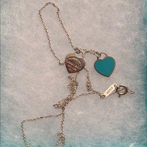 Tiffany mini heart necklace
